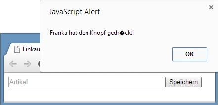 JavaScript Eventhandler onclick Eigenschaft