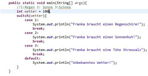 Artikelbild Kontrollstrukture Java